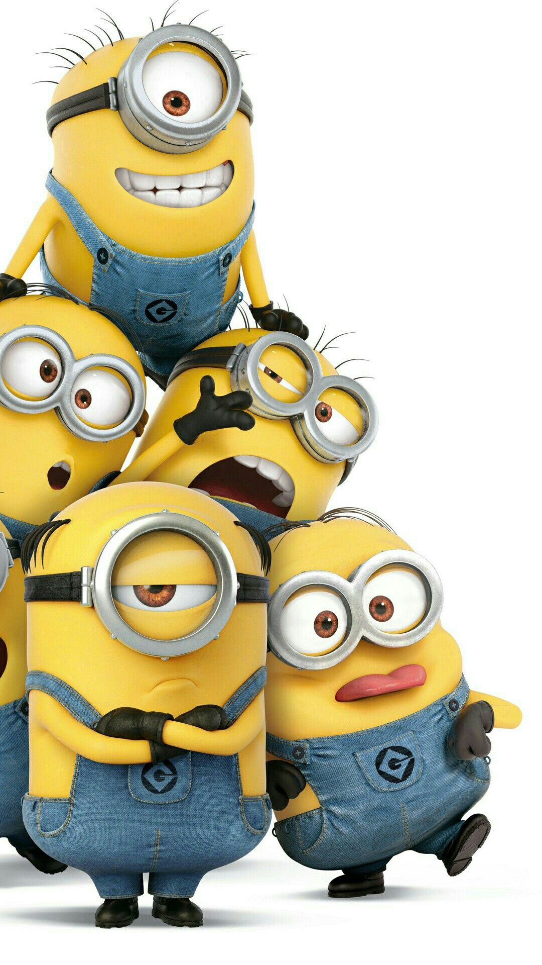 Minions Crazy Background Dengan Gambar Minions Despicable Me Minion Kertas Dinding Lucu