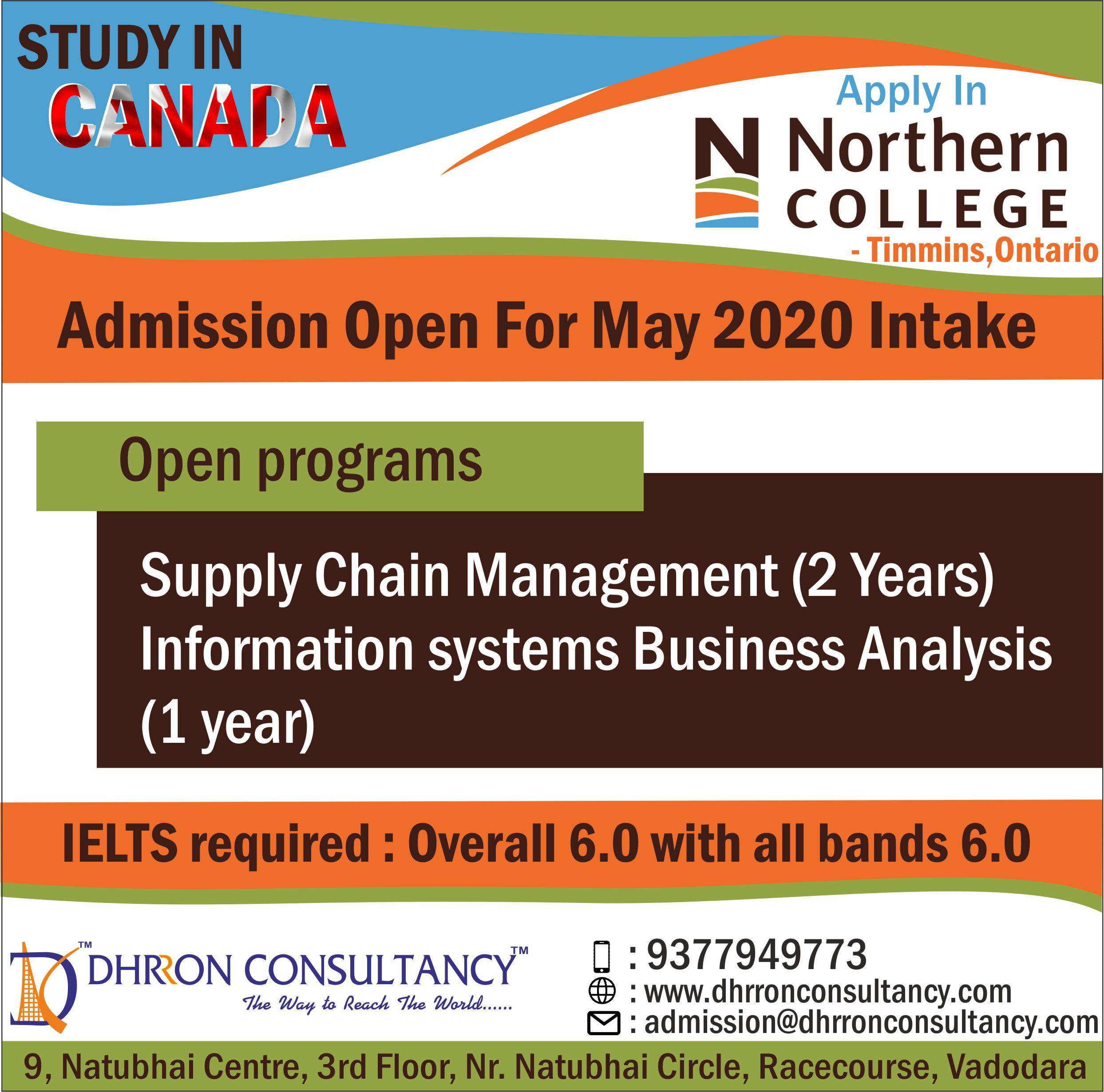 Studyincanada Apply At Northern College For May2020 Intake Call 9377949773 Business Analysis How To Apply Timmins