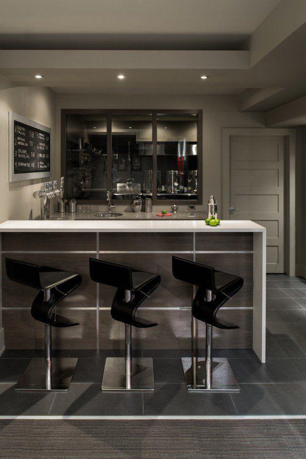 Pin By David Meneces On Tv Moderno: Resultado De Imagen Para Modern Home Bar