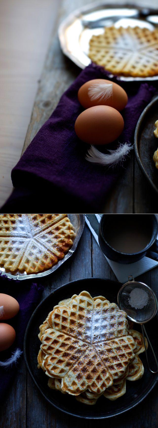 Vafler – Sprøde og nemme vafler – The Food Club #slankemadopskrifter