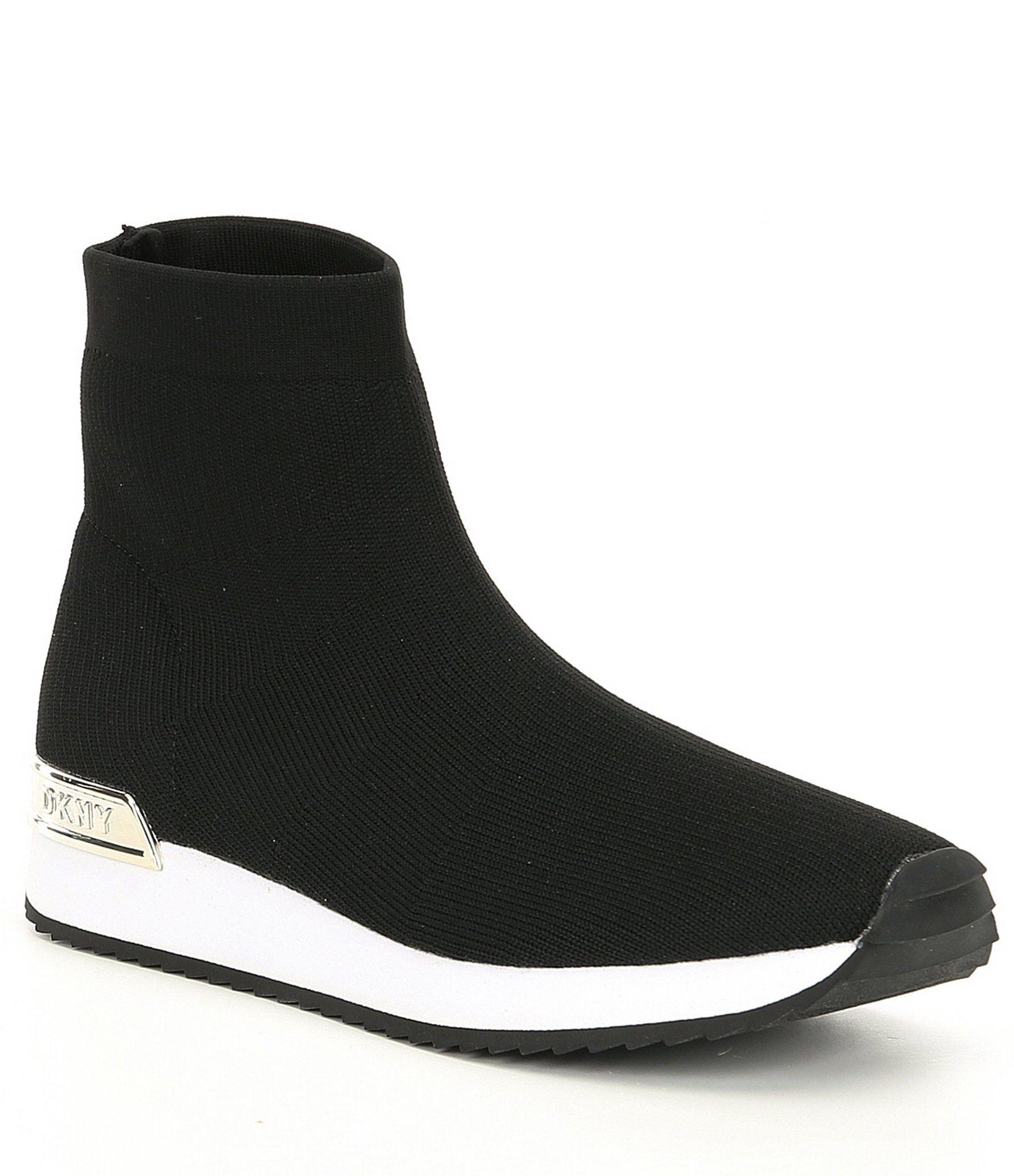 DKNY Marrin Stretch Knit Sock Sneakers