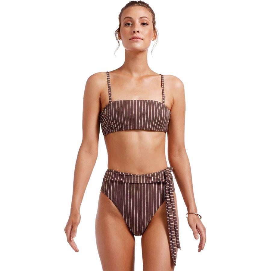 03df3ffedee Vitamin A - Mila Bikini Top - Women s - Cigar Stripe