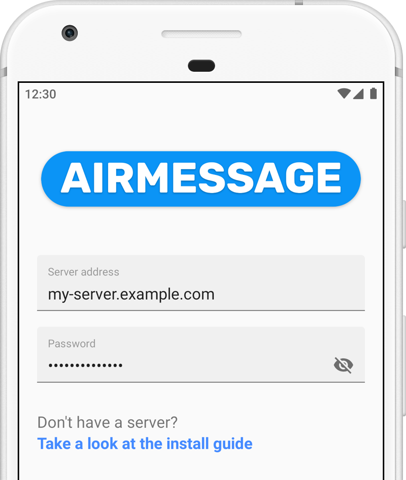 AirMessage on Google PlayAirMessage4 Port forwarding