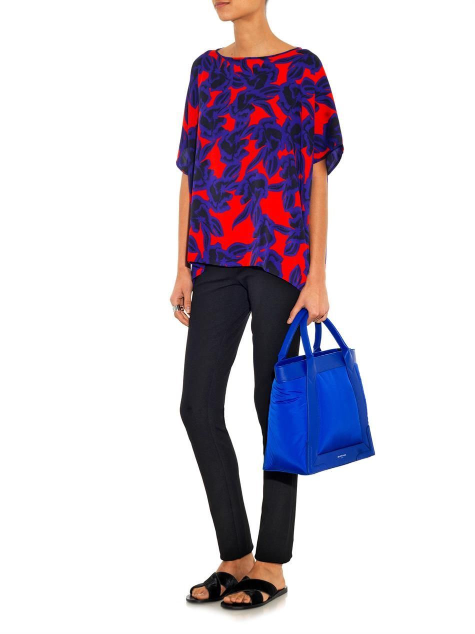 Diane Von Furstenberg New Hanky top #MATCHESFASHION