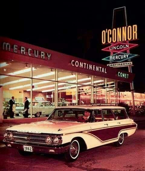 Lincoln Car Deals: 1962 Mercury Monterey Colony Park Station Wagon