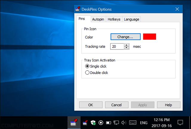 بهذه الطريقة ي مكنك جعل اي نافذة معلقة على الشاشة للإطلاع عليها بصورة دائمة أينما تنقلت بين البرامج والنوافذ How To Apply Color Change Activities