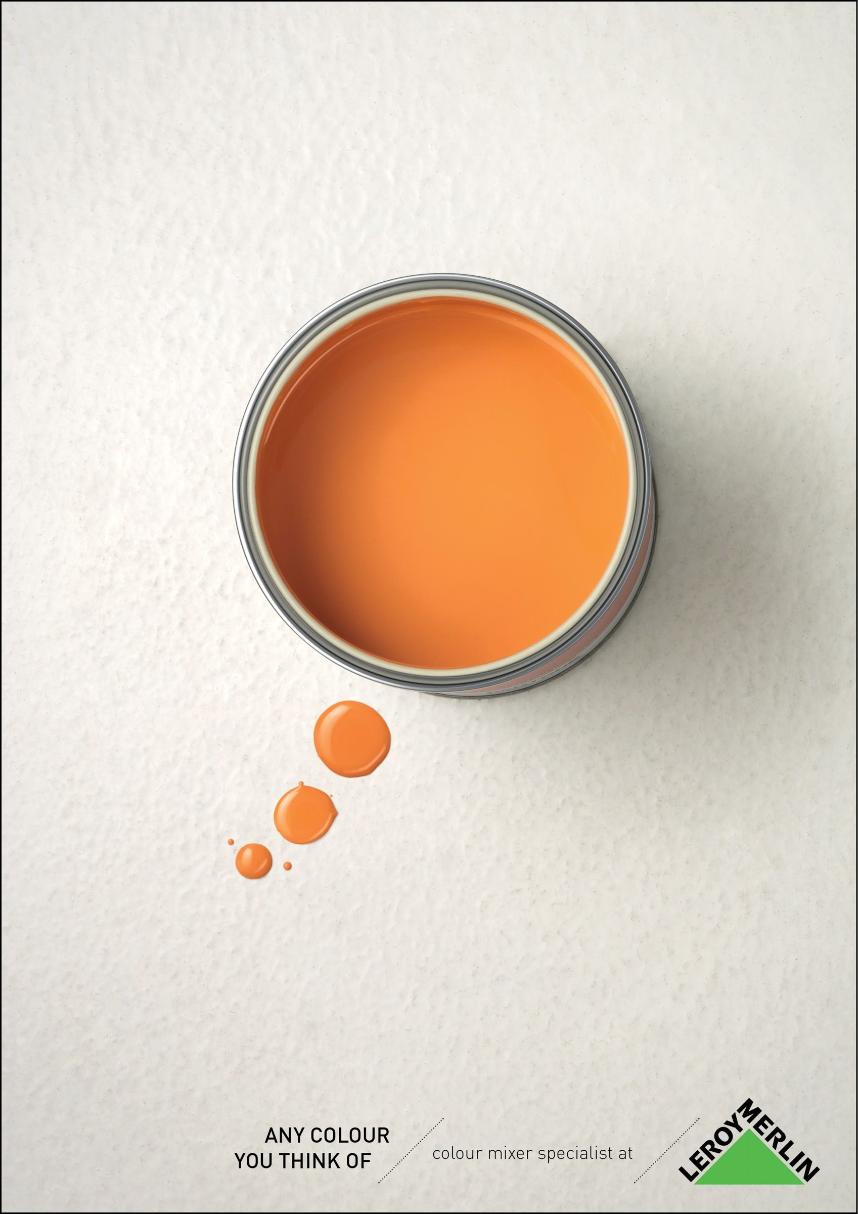 Any Colour You Think Of Advertising Agency Publicis Italy Executive Creative Directors Bruno Ber Ads Creative Advertising Design Print Advertising