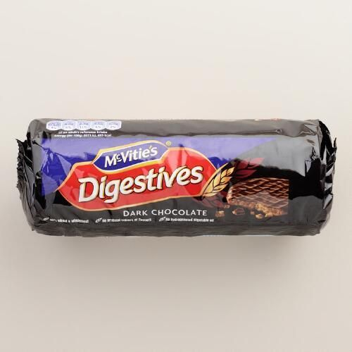 One of my favorite discoveries at WorldMarket.com: McVitie's Dark Chocolate Digestives Cookies,Set of 6