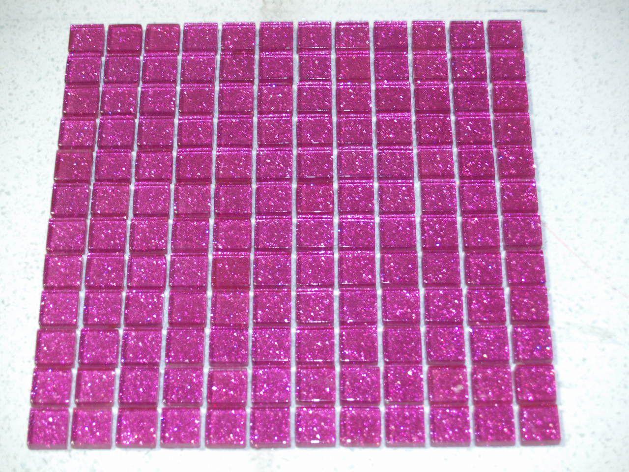 Glitter Pink Gl Mosaic Tiles Model Number V05 2 409 P Jpg