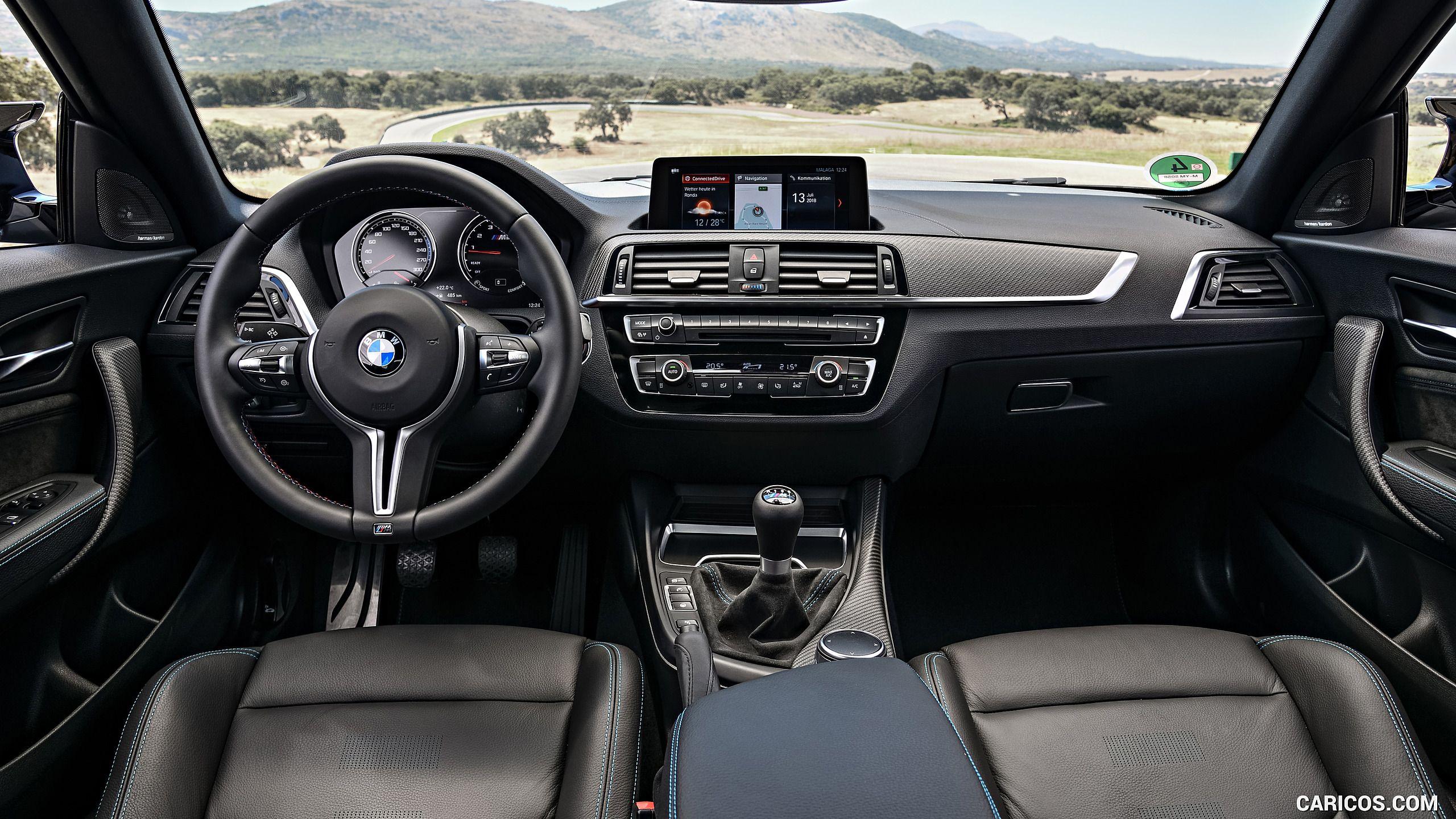 2019 Bmw M2 Competition Interior Cockpit Hd Bmw M2 Bmw