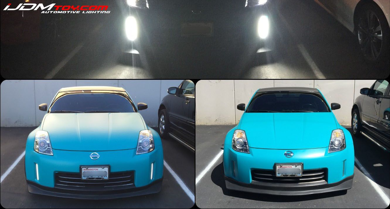 One of our customers sent us this awesome nissan 350z led daytime one of our customers sent us this awesome nissan 350z led daytime running light upgrade vanachro Image collections