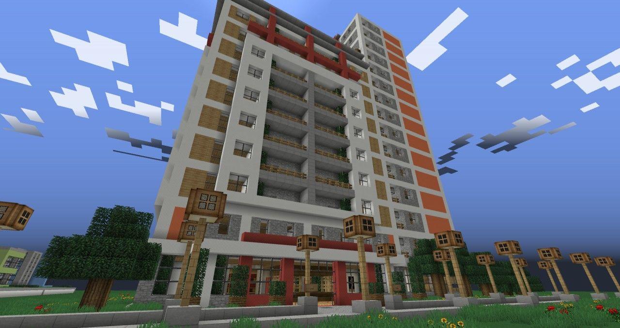 Apartment complex minecraft project apartment complexes