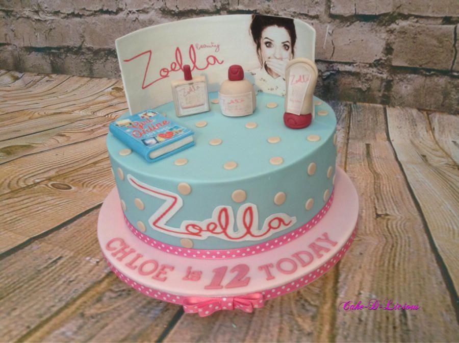 Zoe Sugg Birthday Cake