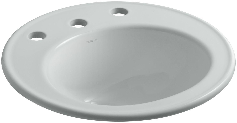 Kohler K 2202 8 Drop In Bathroom Sinks Sink Lavatory Sink