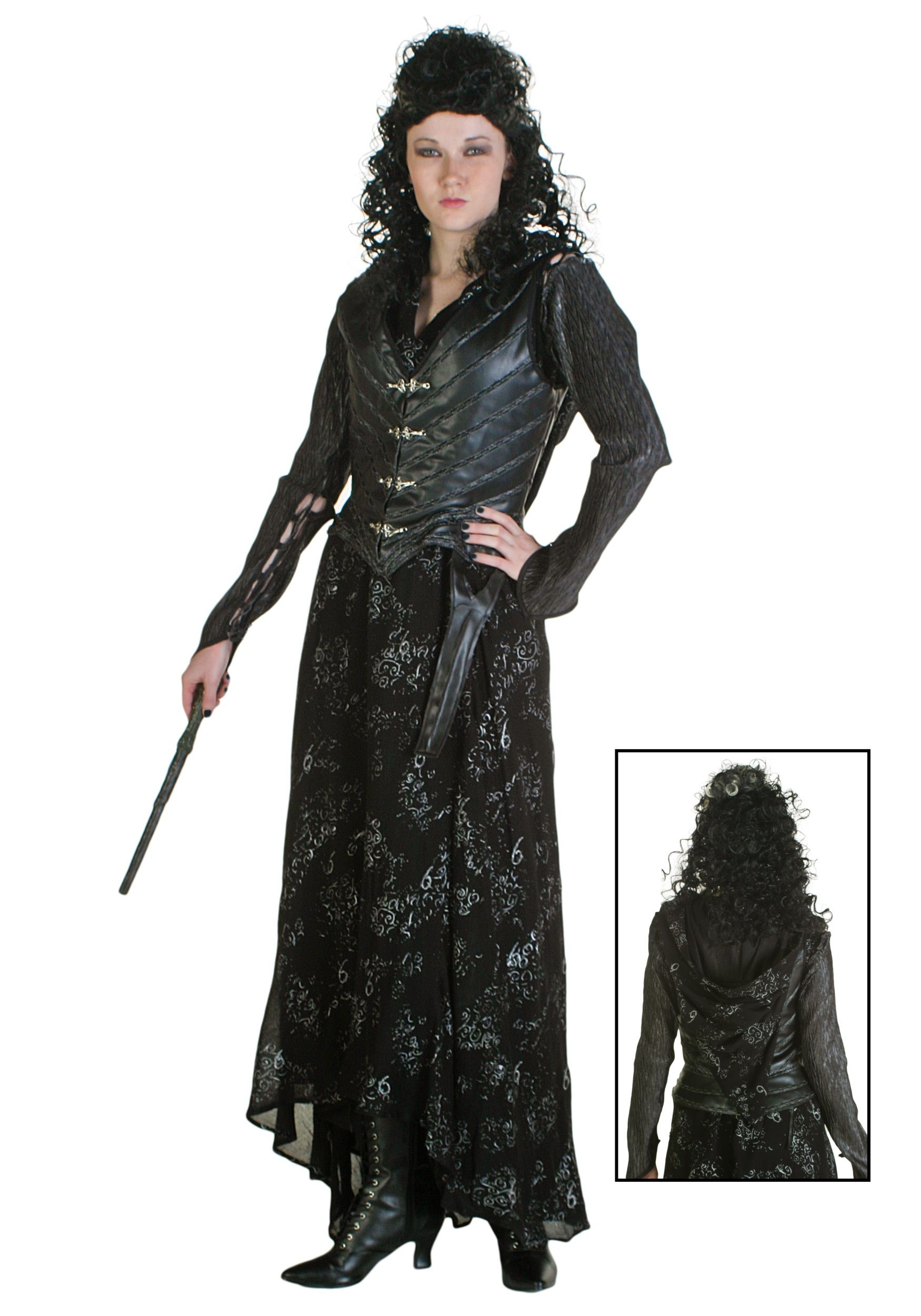 bellatrix lestrange costume replica womens harry potter. Black Bedroom Furniture Sets. Home Design Ideas