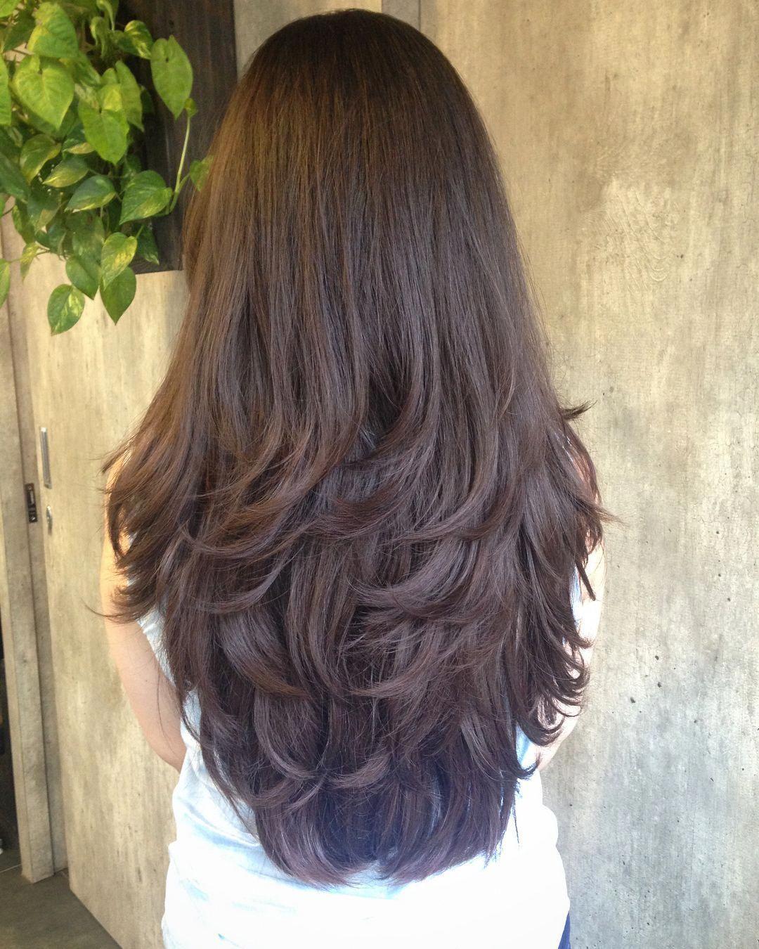 Long Hair Maketh Long Layers Haircutsforwomen Haircut Hair Longhair Layersandlayers Layersla Long Hair Styles Long Layered Hair Wavy Long Layered Hair