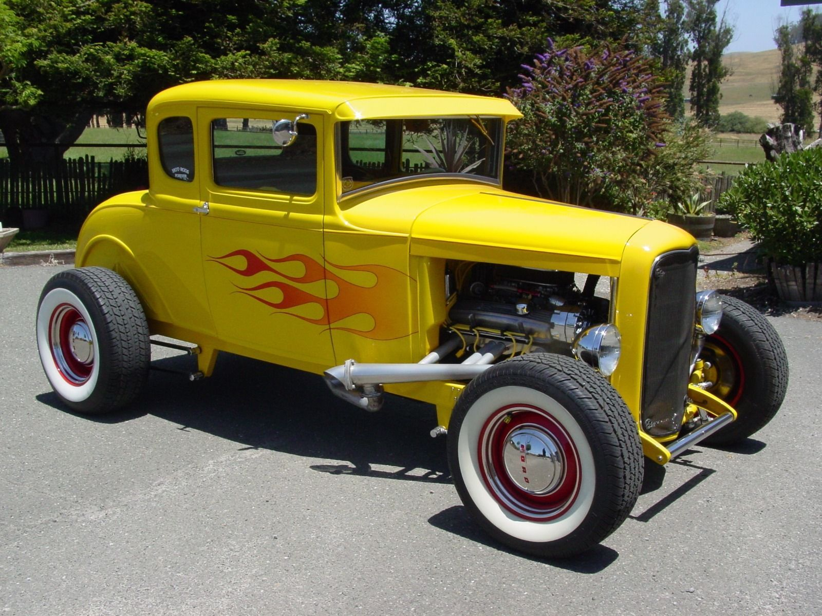 1930 Ford Model A Coupe Hot Rod | Hot rods for sale | Pinterest ...