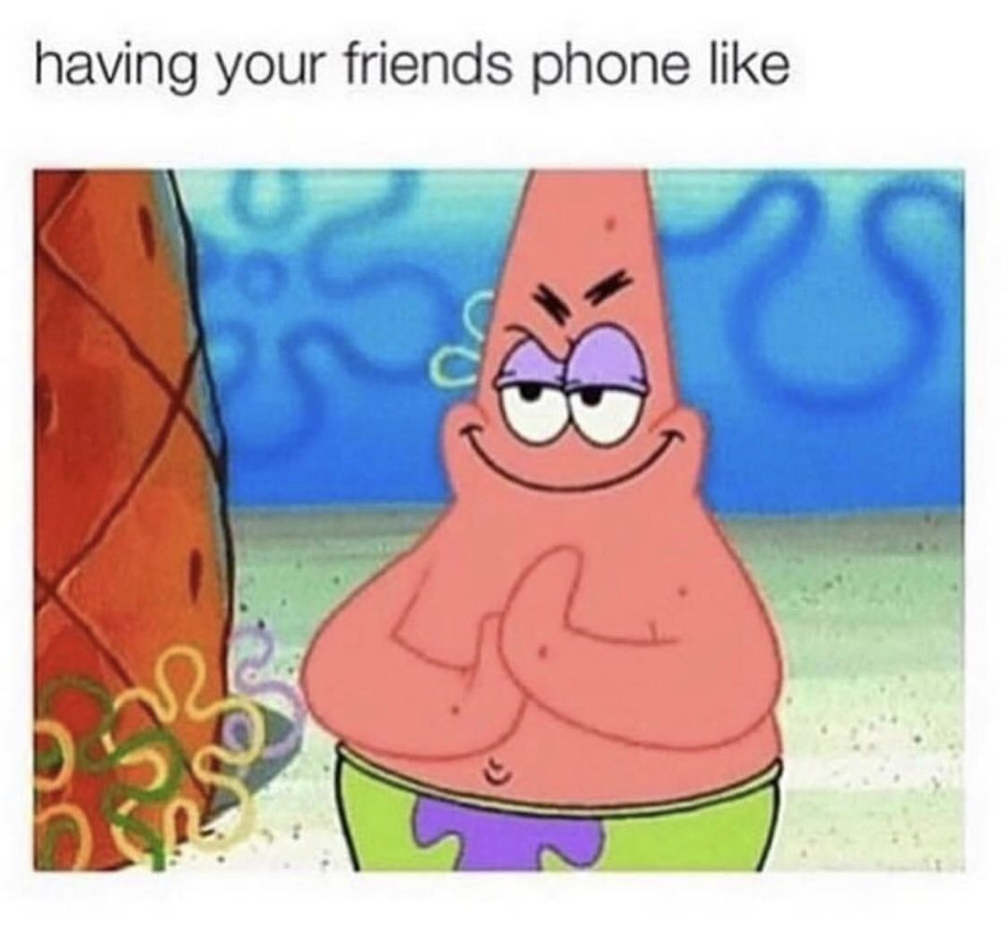 Patrick star meme share with your friends noruleshere com love quotes funny lol memes memesdaily spongebob goals bestoftheday