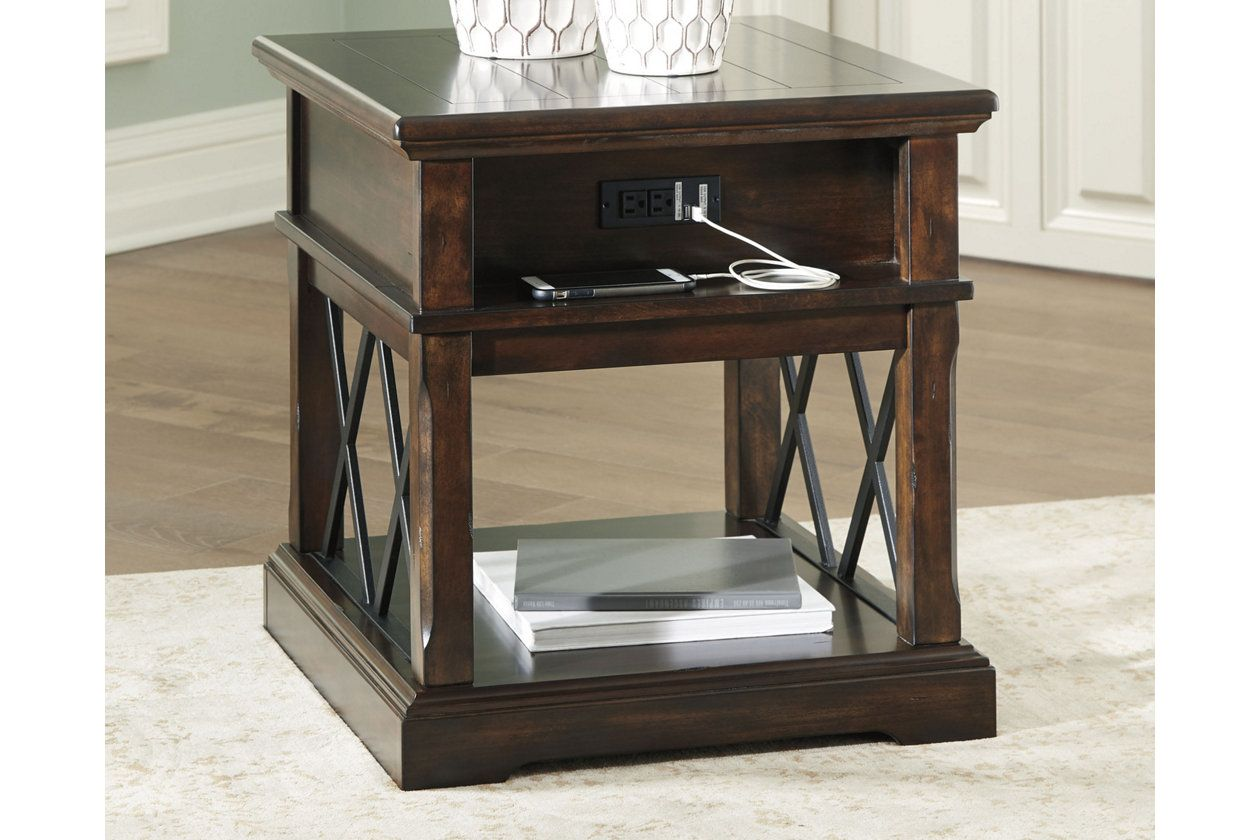Roddinton End Table With Usb Ports Outlets Ashley Furniture