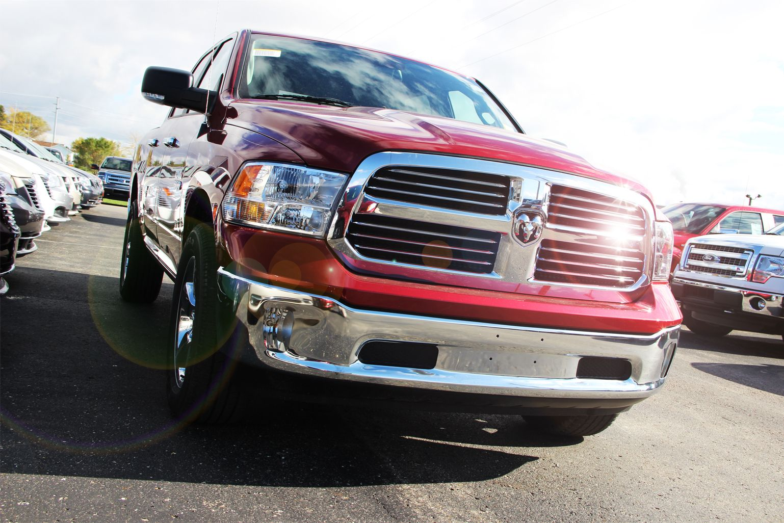 Ram Truck from Moore Motor Sales at the dealership in Caro