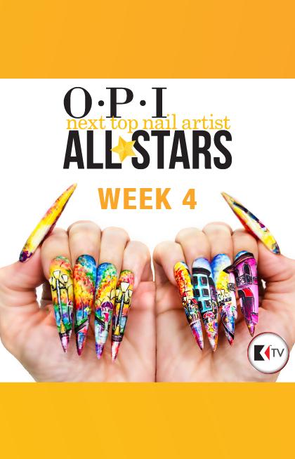 Week 4 Powder Play Nail Artist Top Nail All Star