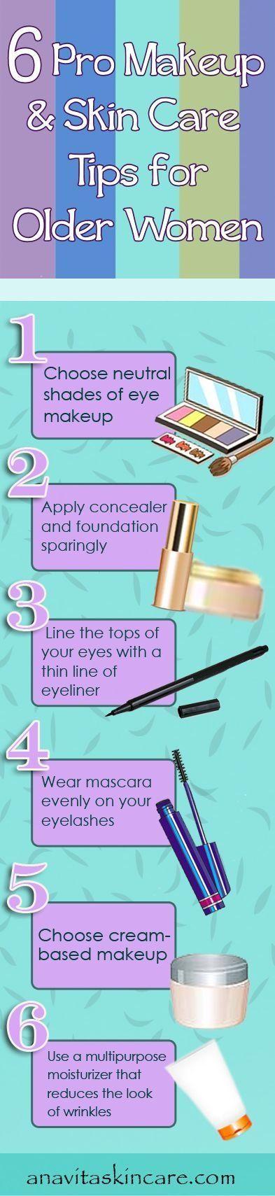 Organic Makeup Makeup tips for older women, Skin makeup