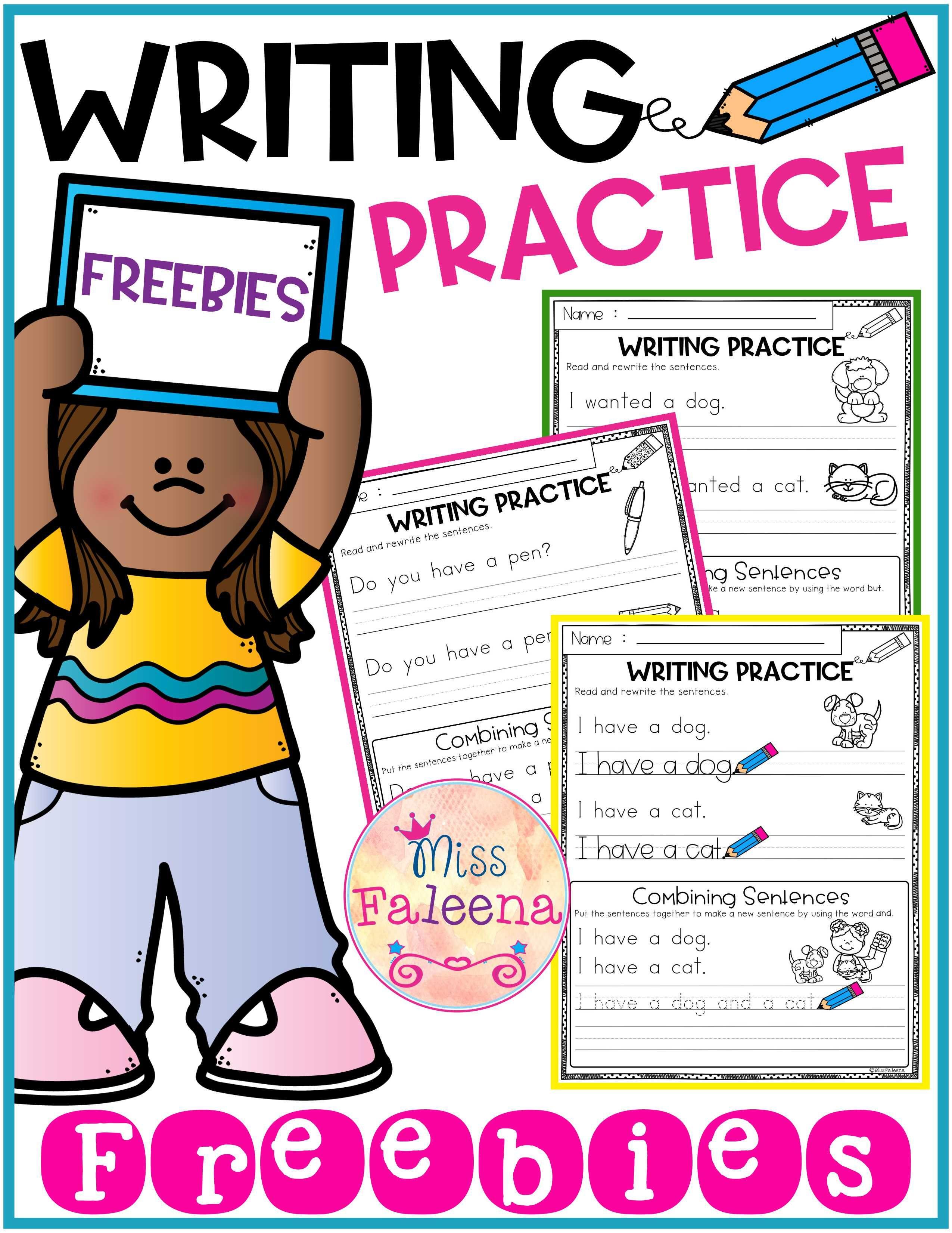 Free Writing Practice Combining Sentences