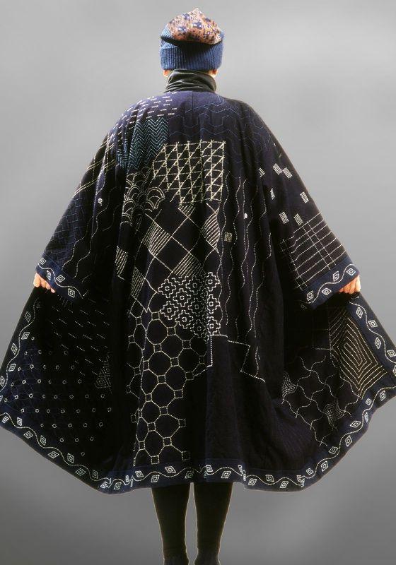 Sashiko coat | Toshie and Marico Chigyo: | needle & thread ...