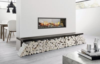 Jetmaster / Heat & Glo Gas Log Mezzo Fire