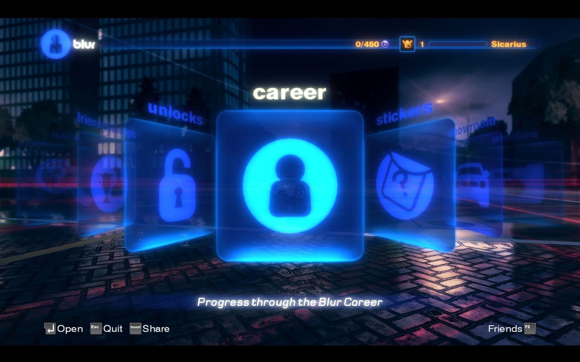 Blur Screenshots for Windows - MobyGames
