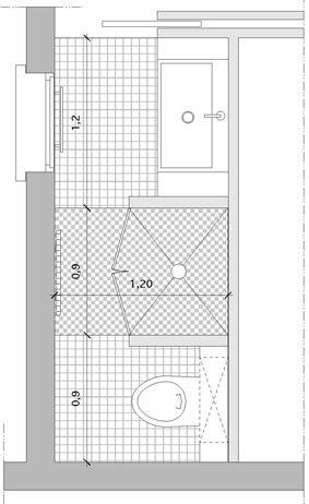 PlanCouloir Divers Pinterest Sdb Salle Et Amenagement Sdb - Salle de bain couloir