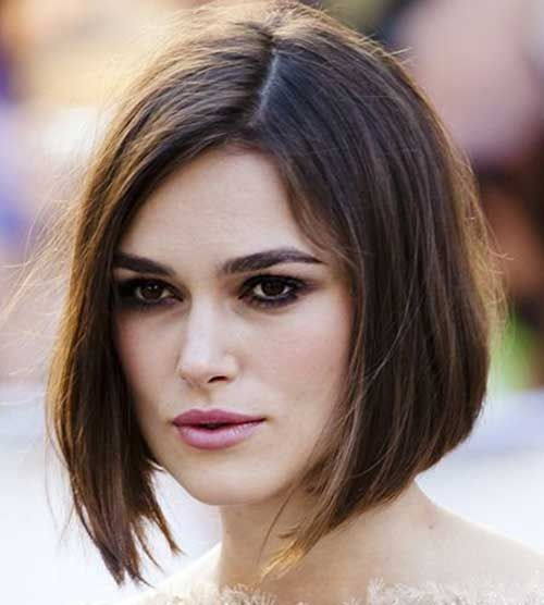 Girls With Square Faces: Short Straight Bob Hair For Girls