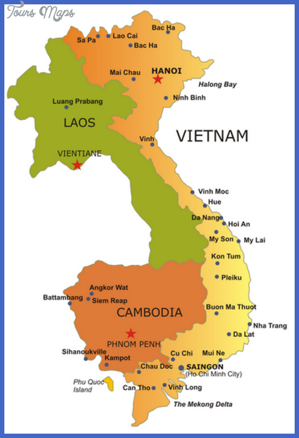 nice Vietnam Map Tourist Attractions | Tours Maps in 2019 | Vietnam ...