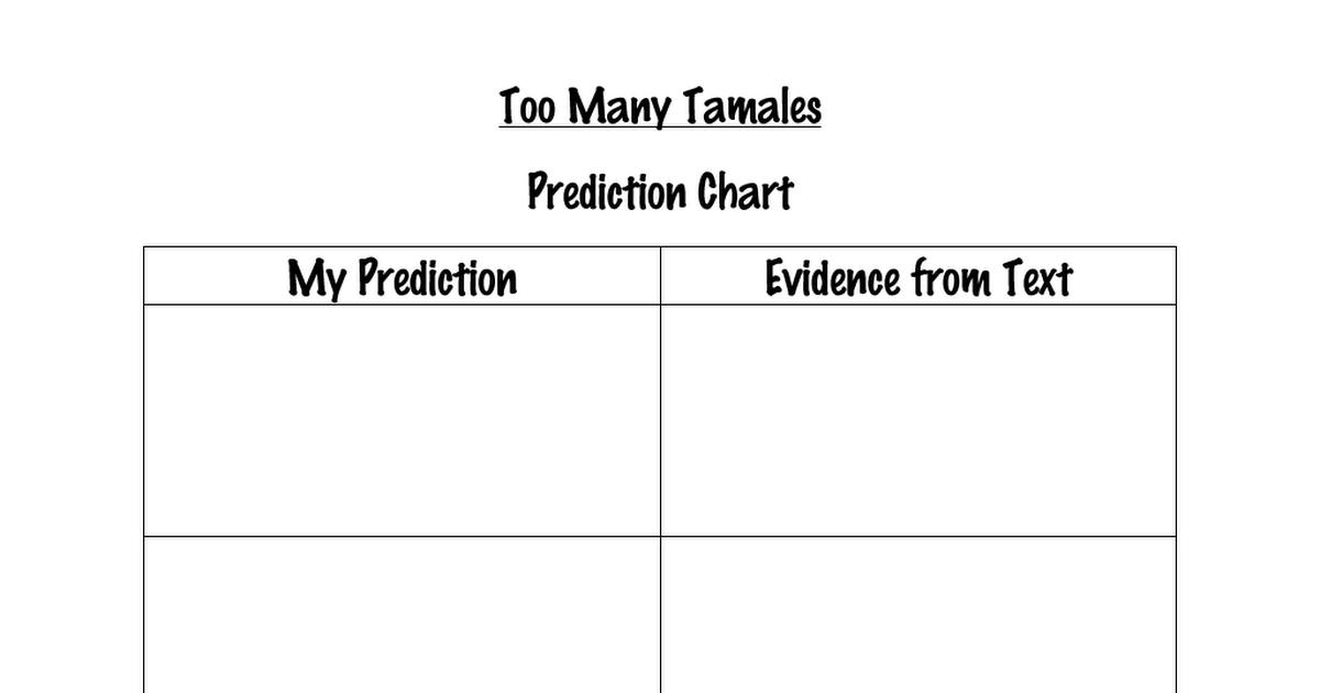 Too Many Tamales.pdf Slp materials, Education, Tamales