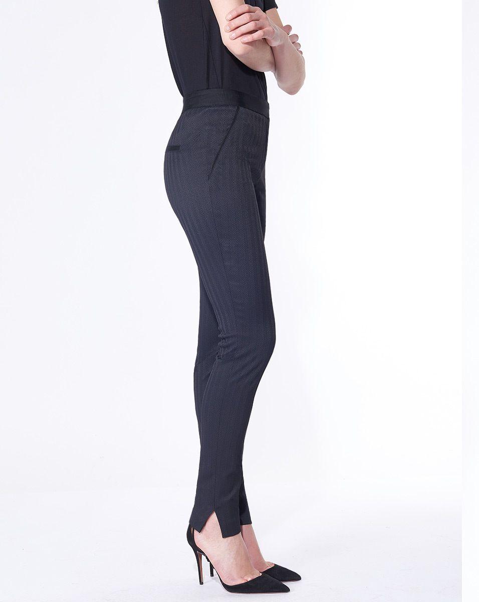 1ead2ca7be Terra Skinny Trouser by Veronica Beard: Designed in luxe herringbone ...
