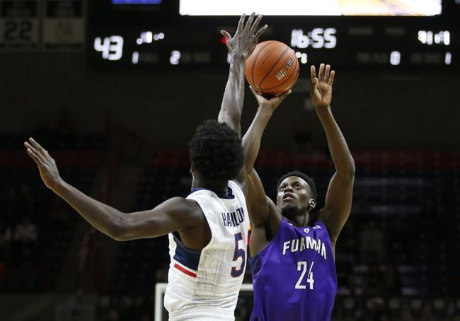 Tennessee Tech Golden Eagles vs. Furman Paladins - 12/19/16 College Basketball Pick, Odds, and Prediction