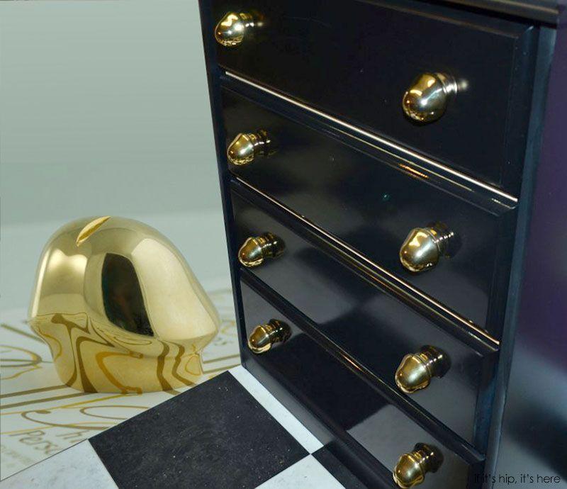 Penis Art Drawer Pulls – 24kt Gold plated: | http://www ...