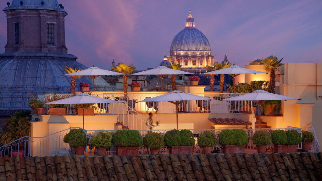10 of Europe's best rooftop bars | Rooftop bar rome, Best ...