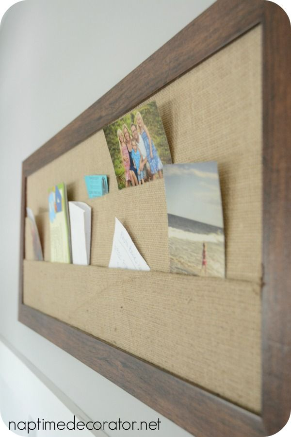 Homegoods burlap bulletin board for the office makeover for Kitchen cork board ideas