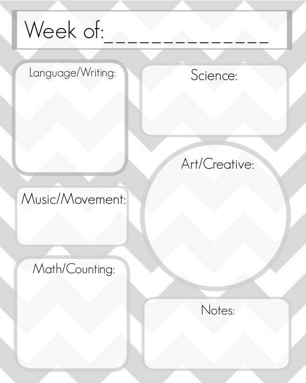 Lesson Plan Template School Ideas Pinterest Lesson Plan - Online lesson plan template