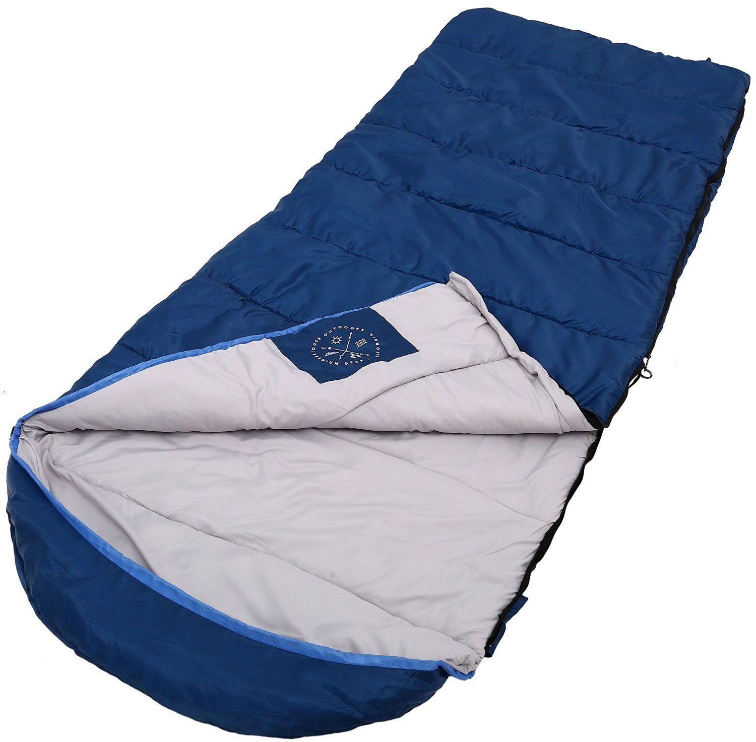 """Camping accessories :""""All Season Sleeping Bag with Hood [88x34in] - Comfort Temperature Range of 32-60_F. Constructed with a Ripstop Waterproof Shell : Woven Polyester Liner and High-Loft Fill. Comfortably Fits Most up to 6'6."""" ** Tried it! Love it! Click the image."""