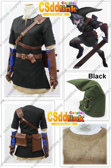 Zelda cosplay Skyward Sword Twilight Princess BELT POUCHES for Link Costume