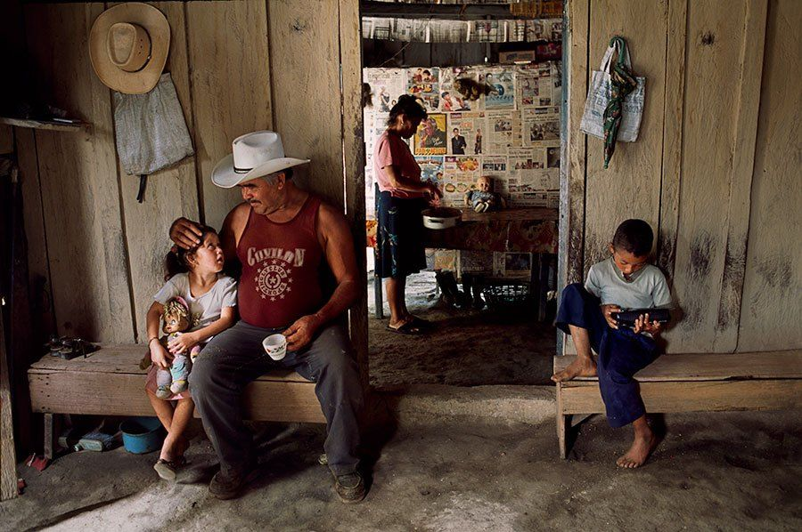 Honduras  By Steve McCurry  What can you do to promote world peace?  Go home and love your family.  - Mother Teresa