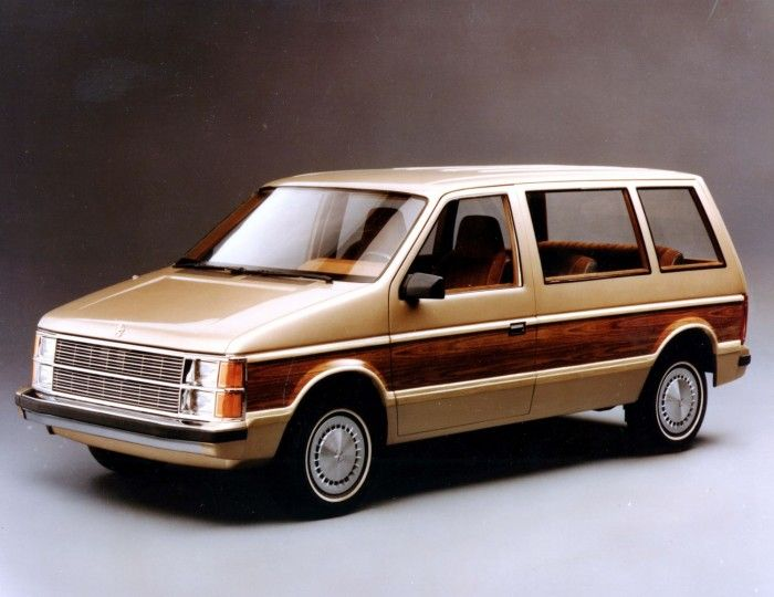 1983 Plymouth Voyager Chrysler Voyager Mini Van Chrysler Minivan