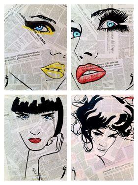 """Saatchi Online Artist Conrad Jones; Collage, """"Fashion"""" #art one of my favorite artists"""