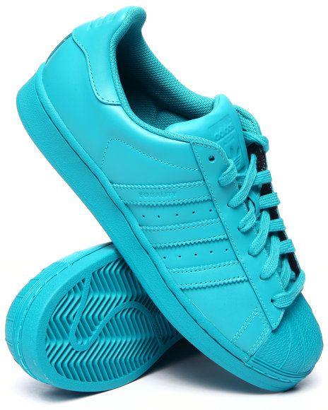 adidas superstar azul claro