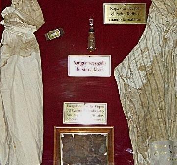 Reliquias de Santo Toribio