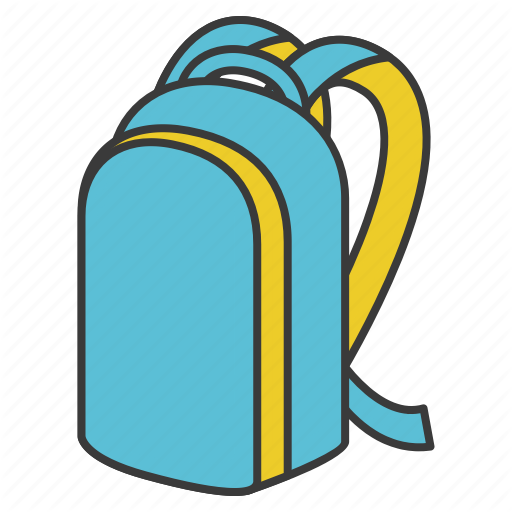 Backpack Bag Equipment School Study Work Icon Download On Iconfinder Work Icon Icon All Icon