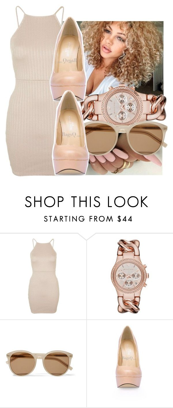 """all I wants is pints and you!"" by aribearie ❤ liked on Polyvore featuring Topshop, Michael Kors and Yves Saint Laurent"