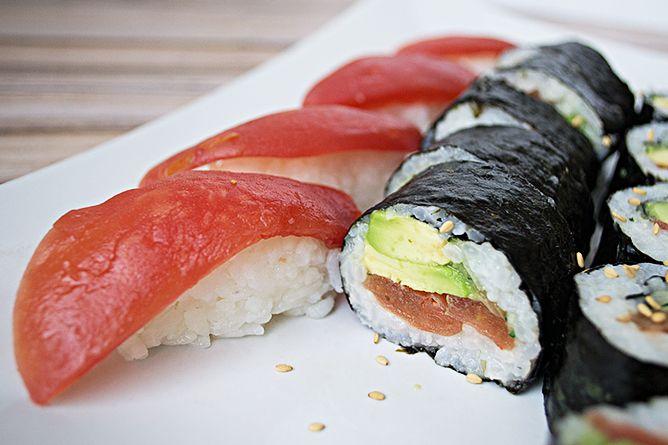 Vegan Tuna Sushi Whoa Rootiful Manger Sainement Vegetarien Recette